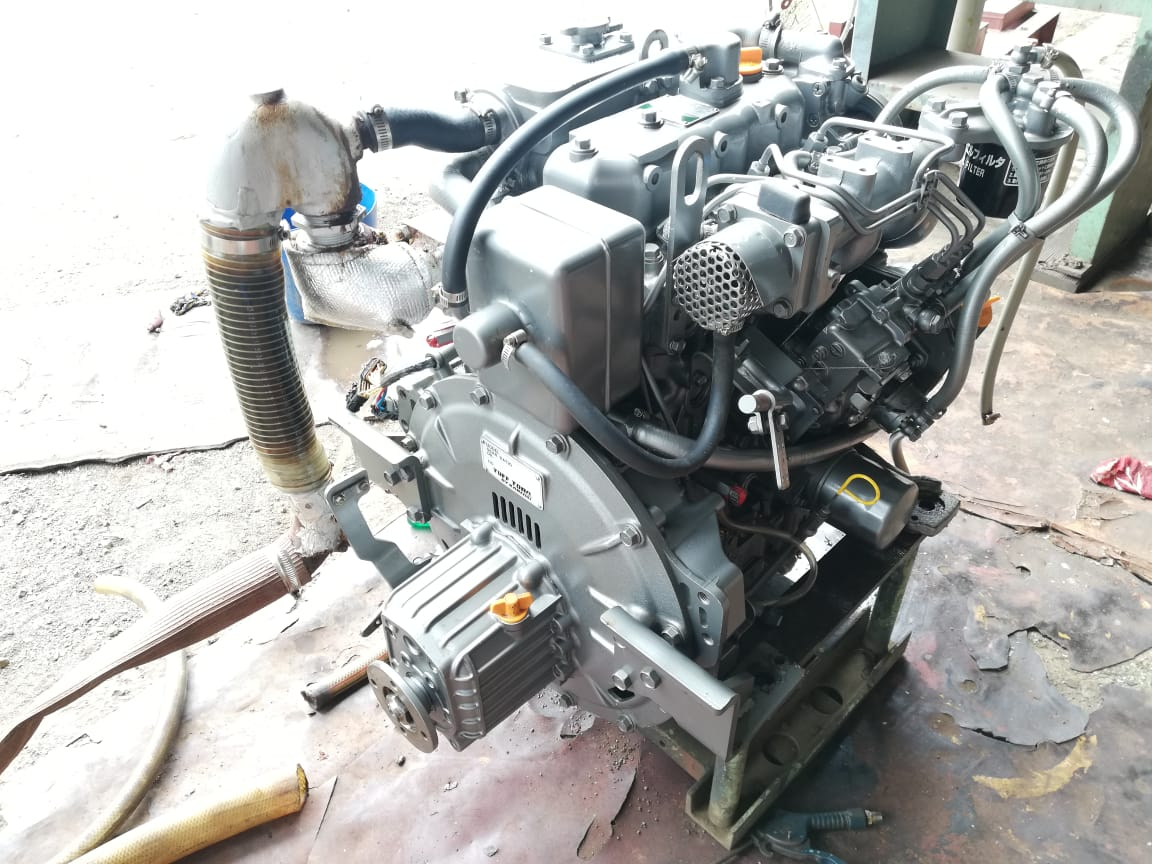 LIFE BOAT ENGINE YANMAR 3JH30A/3JH25A LIFE BOAT ENGINE YANMAR 3JH30A/3JH25A