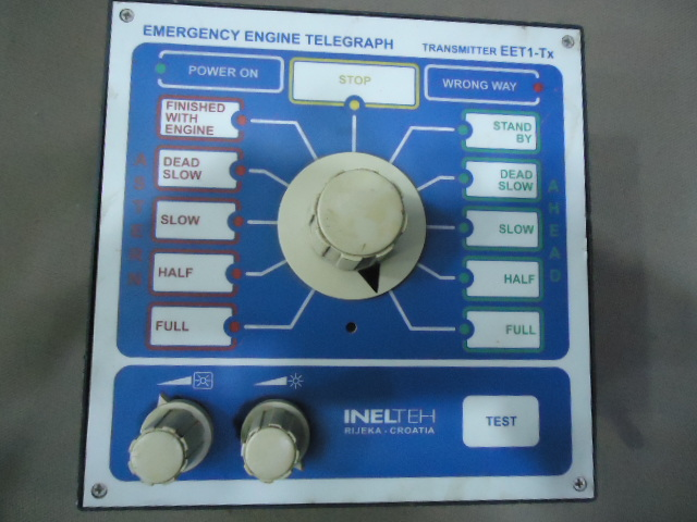 EMERGENCY ENGINE TELEGRAPH